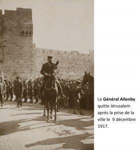 Aleenby 1917 jerusalem annoté shutterstock_245961718