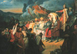 Ary_Scheffer,_Charlemagne_reçoit_la_soumission_de_Widukind_à_Paderborn,_(1840)