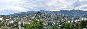 Priego de Crdoba, Andaluca, vista panormica