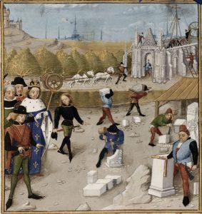 Dagobert_visitant_le_chantier_de_la_construction_de_Saint-Denis