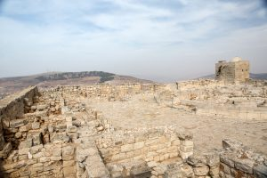 Mount Griezim ruins, holy place for the Samaritan community, Israel