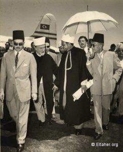 1954_-_haj_amin_al_husseini_and_sayf_el_islam_abdallah-almaza_airport-cairo
